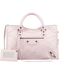 Balenciaga Classic City Bag Rose - Lyst