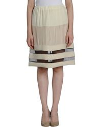Commuun Knee Length Skirt - Lyst
