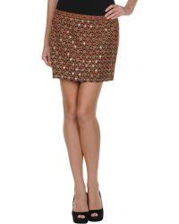 Gryphon Mini Skirt - Lyst