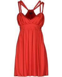 Harmont & Blaine Short Dress - Lyst