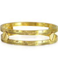 Jean Paul Gaultier - Demesure Goldtone Bangle Bracelet - Lyst