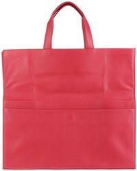 Maison Margiela Large Leather Bag - Lyst