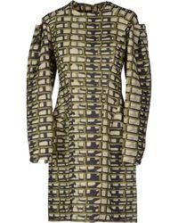 Maison Rabih Kayrouz Short Dress - Lyst