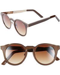 Quay Cats Eye Sunglasses - Lyst