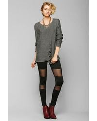 Urban Outfitters Sparkle Fade Meshinset Legging - Lyst