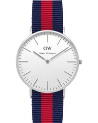 Daniel Wellington Classic Oxford Ladies Watch silver - Lyst