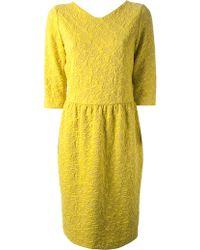 Hoss Intropia Patterned Knit Sweater Dress - Lyst