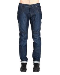 Jeckerson Jeans Denim With Stretch Patches - Lyst