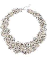 Jenny Packham - Fiori Necklace - Lyst