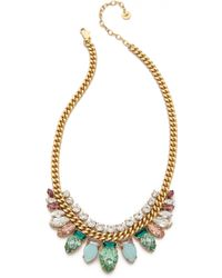 Juicy Couture - Teardrop Chain Link Necklace - Lyst