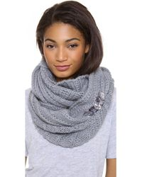 Juicy Couture - Chucky Jewel Infinity Scarf - Lyst