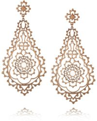 Laurent Gandini - Serenissima 9karat Rose Gold Earrings - Lyst