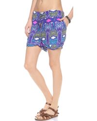 OndadeMar - Dahab Cover Up Shorts - Lyst