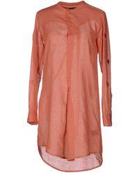 Antik Batik Red Short Dress - Lyst
