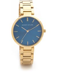Kenneth Jay Lane - Large Face Watch - Lyst