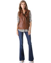 Twelfth Street Cynthia Vincent - Oversized Leather Vest - Lyst