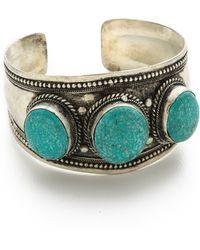 Vanessa Mooney Roxanne Cuff Bracelet - Lyst