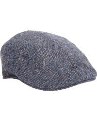 Barneys New York Donegal Tweed Ivy Cap - Lyst