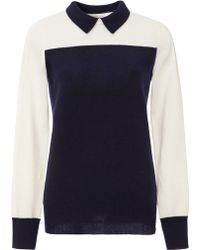 Demy Lee Sidney Cashmere Colorblock Sweater - Lyst