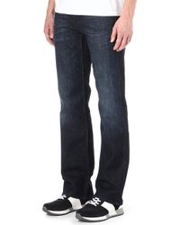 7 For All Mankind Austyn Relaxed Straight-Leg Jeans - For Men - Lyst