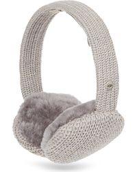 Ugg Cardy Knit Earmuff - Lyst
