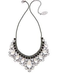 Adia Kibur - Crystal Fringe Necklace - Lyst