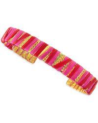 Chamak by Priya Kakkar - Threadwrapped Cuff Redgold - Lyst