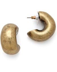 Giles & Brother - Huge Cortina Hoop Earrings - Lyst