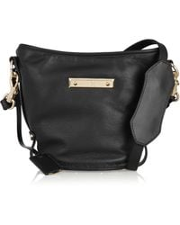 McQ by Alexander McQueen Leather Shoulder Bag - Lyst