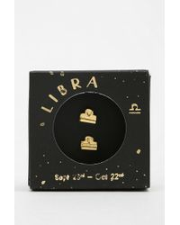 Urban Outfitters - Zodiac Gift Card Earring - Lyst