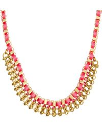 John & Pearl | Centre Chain Necklace | Lyst
