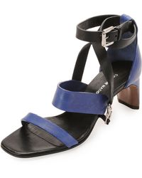 Costume National | Lambskin Claw Anklewrap Sandal | Lyst