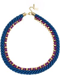 John & Pearl | Cord Chain Necklace | Lyst