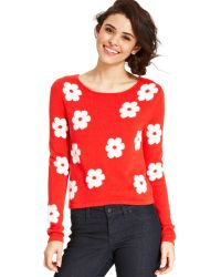 Keds - Juniors Floral Print Sweater - Lyst