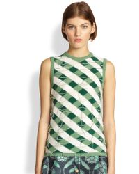 Thom Browne Bias Insideout Cashmere Shell - Lyst