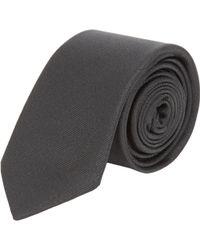 Balenciaga - Faille Skinny Tie - Lyst