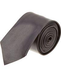 Balenciaga - Leather Tie - Lyst