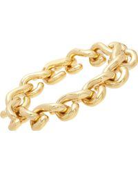 Balenciaga - Gold Large Schain Bracelet - Lyst