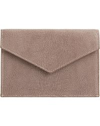 Barneys New York Gusseted Medium Envelope brown - Lyst
