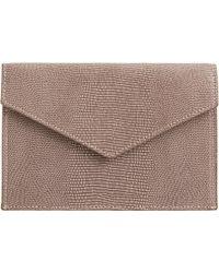 Barneys New York Medium Envelope Gusset - Lyst