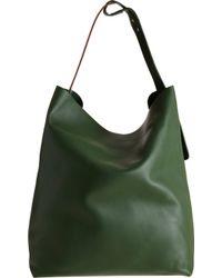 Barneys New York Colorblock Belt Strap Shoulder Bag - Lyst