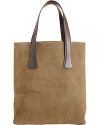 Barneys New York | Suede Basic Tote | Lyst