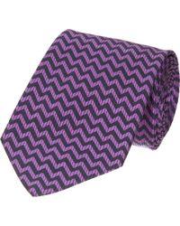 Duchamp Zigzag Tie - Lyst