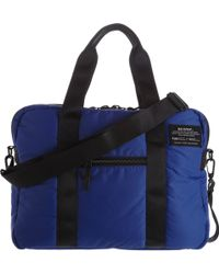 Ecoalf Recycled Fishing Net Fabric Briefcase - Lyst