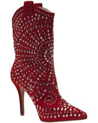 Jeffrey Campbell Studded Ankle Boot - Lyst