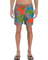 Limoland - Camo Swim Shorts - Lyst