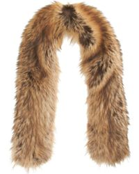 Nina Ricci Fur Stole - Brown