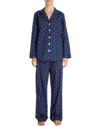 Steven Alan - Leaf and Dot Pajama Top - Lyst