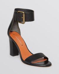 Via Spiga Sandals Foxy Ankle Strap High Heel - Lyst
