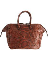 Zagliani | Python Medium Diana Bag | Lyst